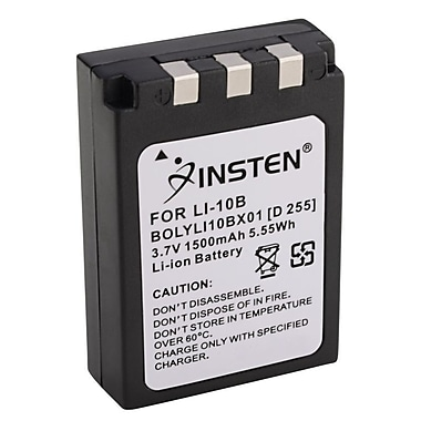Insten® 290806 2-Piece DV Battery Bundle For Olympus Li-10B/Li-12B/DB-L10