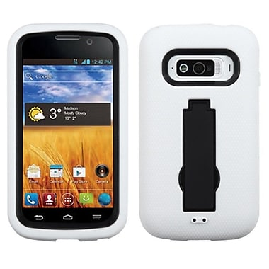 Insten® Symbiosis Stand Protector Case For ZTE N9101 Imperial, Black/White