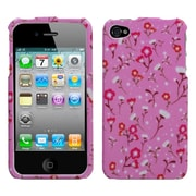 Insten® Phone Protector Cover F/iPhone 4/4S, Starburst Flower Pink
