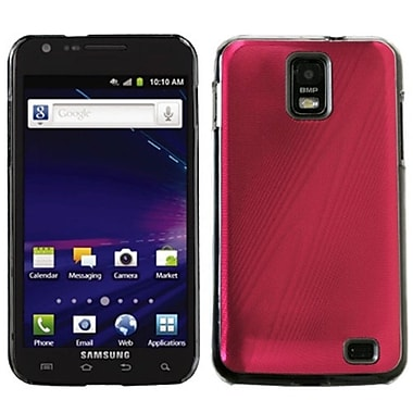 Insten® Cosmo Back Protector Case For Samsung i727 (Galaxy S II Skyrocket), Red