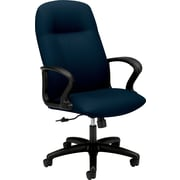 HON® HON2071NT90T Gamut® Fabric Executive High-Back Chair with Fixed Arms, Mariner