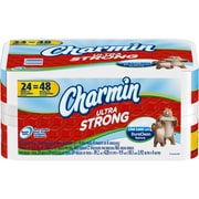 Charmin Ultra Strong Toilet Paper, 24 Double Plus Rolls