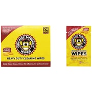 Shark Tank® Grease Monkey Wipes, Individual Wipes, 12 Count