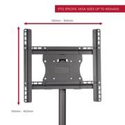 Seneca AV Stationary Floor Mount for 26''- 50'' Flat Panel Screens