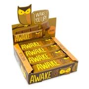 AWAKE Caffeinated Caramel Bars, 12 CT