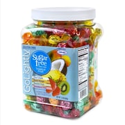 GoLightly Sugar-Free Tropical Fruit Hard Candy, Assorted, 1.5 LBS