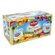 DelMonte Fruit Burst Squeezers Variety Pack, 16 Pack