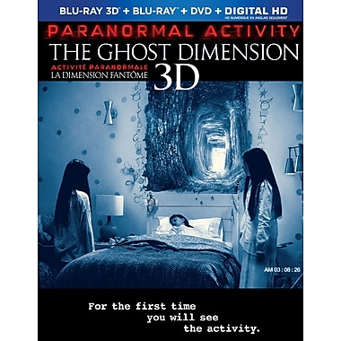 Paranormal Activity: The Ghost Dimension (3D Blu-Ray/Blu-Ray/DVD)