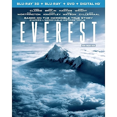 Everest (3D Blu-Ray/Blu-Ray/DVD)