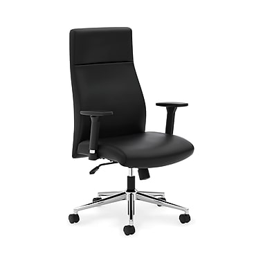 basyx byHON® VL108 Executive High-Back Chairs, Adjustable Arms