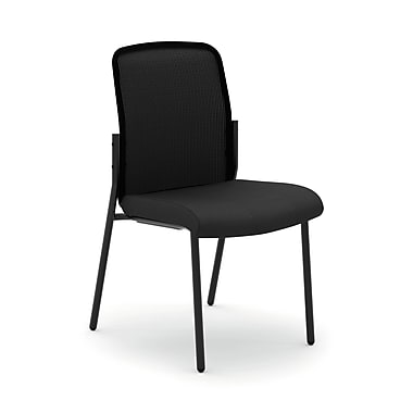 basyx byHON® VL508 Mesh Back Stacking Multi-Purpose Guest Chairs, Armless