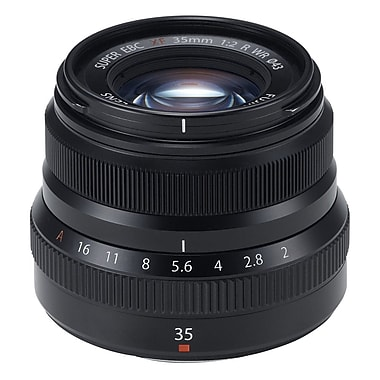 Fujinon 600015904 Lens XF35MM F2 R WR, Black