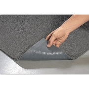 Crown Spaghetti Vinyl-Loop Floor Mat, Vinyl, 36 X 60, Gray