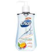 Dial® Antimicrobial Liquid Soap, 7 1/2 Oz Pump Bottle, Coconut Water & Mango