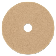 3M Ultra High-Speed Floor Burnishing Pads 3400, 27-Inch, Tan