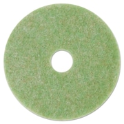 "3M Low-Speed Topline Autoscrubber Floor Pads 5000, 13"", Sea Green, 5/carton"