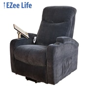 Ezee Life CH4005 Saturn Lift Chair with Cup Holder & Tray, Blue