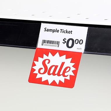 KostklipMD (S100-107126) – Coll. signature « Sale », pancarte ShelfTalkerMC V2, 1,25 x 2,5 po, 2/0, 25/paq.