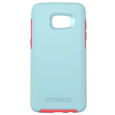 Otterbox Symmetry GS7 Edge Phone Case, Blue/Pink