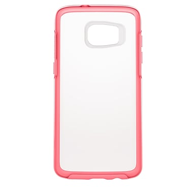 Otterbox Symmetry Clear GS7 Edge Crystal Phone Case, Pink
