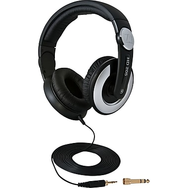 Sennheiser Closed Back On Ear Headphones, HD 205-II