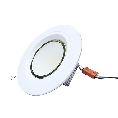 EcoGEN Energy Efficient LED Dimmable Down Light Fixture, 3000k