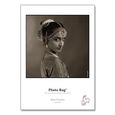 Hahnemuhle Photo Rag, 308gsm, 8 1/2 x 11, 25 sheets