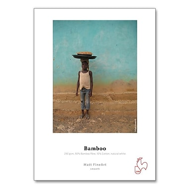 Hahnemuhle – Papier Bamboo, 8 1/2 po x 11 po, 25 feuilles