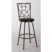 Hillsdale Bellesol Adjustable Height Swivel Bar Stool with Cushion