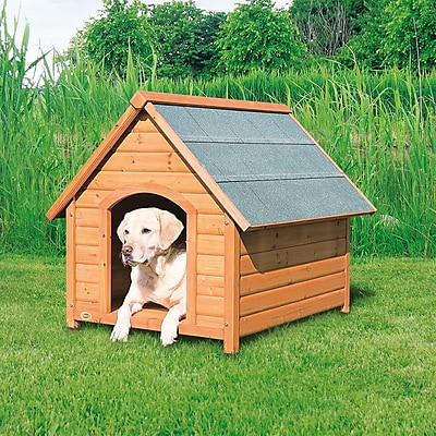 Trixie Log Cabin Dog House; Large (34.25''