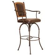 Artisan Home Furniture 30'' Swivel Bar Stool with Cushion