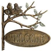 SPI Home Lovebirds Welcome Garden Decor