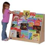 Steffy Five Shelf Book Display