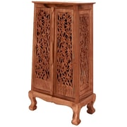 EXP D cor Acacia 2 Door Storage Cabinet