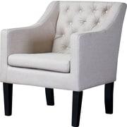 Wholesale Interiors Baxton Studio Brittany Club Chair; Beige