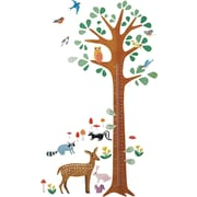 Wallies Woodland Growth Chart Interactive Wall Decal
