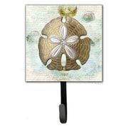 Caroline's Treasures Sand Dollar Leash Holder and Key Hook