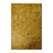 Natural Rugs Barcelona Cowhide Tan Area Rug