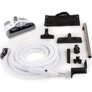 GV Central Vacuum Hose Kit w/ Power Head 30 Foot Hose and Tool