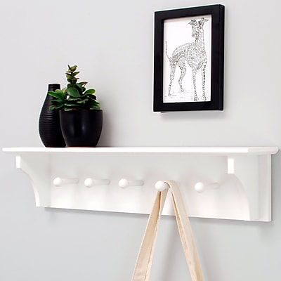 nexxt Design Foster Wall Floating Shelf; White