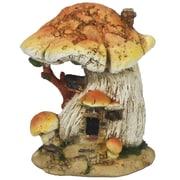 Hi-Line Gift Ltd. Fairy Garden Mushroom House
