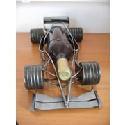 H & K SCULPTURES Formula 1 Bottle Tabletop Wine Caddy