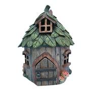Hi-Line Gift Ltd. Fairy Leaf Roof Garden House