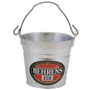 Behrens Hot Dipped Steel Pail; 5.8'' H x 6.5'' W x 6.5'' D