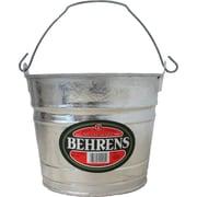 Behrens Hot Dipped Steel Pail; 7.8'' H x 9.5'' W x 9.5'' D