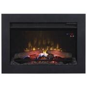 Classic Flame Steel Trim Kit Frame; 21.89'' H x 30.71'' W x 1.08'' D