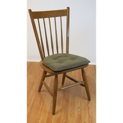 Klear Vu Thatcher Gripper Tufted Chair Cushion (Set of 2); Fawn