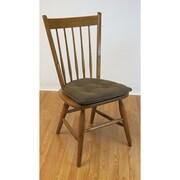 Klear Vu Thatcher Gripper Tufted Chair Cushion (Set of 2); Caf