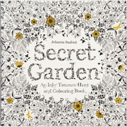 """Chronicle Books """"Secret Garden Coloring Book,"""" Softcover (CH-67106)"""