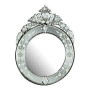 Venetian Gems Round Mirror
